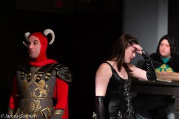 SKM Nick Masson, Haley Ferrara, and Kevin Callaghan